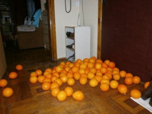 волшебные апельсины